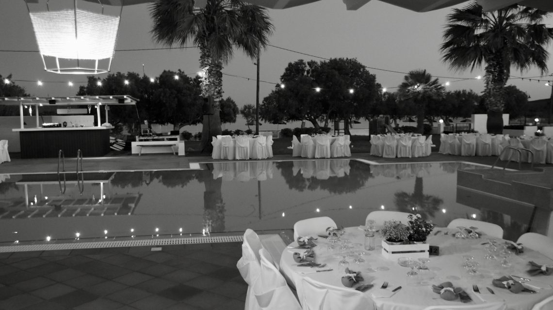 wedding party in Astypalea